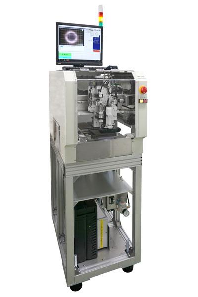 超小型簡易チップ搭載機MR-250イメージ画像 ローコストで単純作業の自動化を実現、持ち運び可能なモバイルサイズ、直感的に判る簡単操作